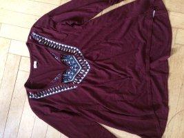Hollister Long Shirt bordeaux
