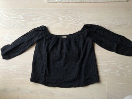 Hollister Lace Blouse dark blue