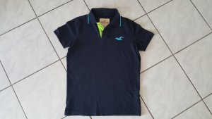 Hollister Polo blu scuro Cotone