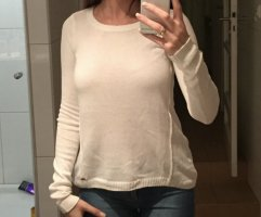 Hollister Wool Sweater white