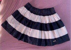 Hollister Minigonna bianco-blu scuro