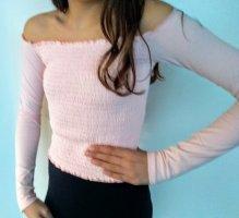 Hollister Carmen Shirt pink