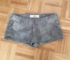 Hollister Short Jeans oliv khaki mit Taschen W28 Gr. M