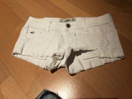 Hollister Pantalón corto de tela vaquera blanco