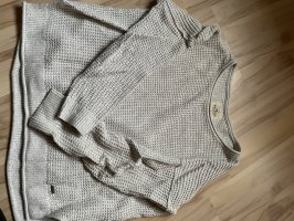 Hollister Coarse Knitted Sweater natural white-cream