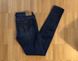 Hollister Super Skinny Jeans Destroyed W24 Gr0