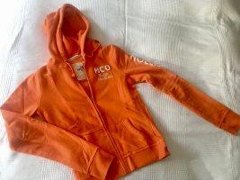 Hollister Sweatshirtjacke | Größe S | Orange
