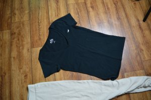 Hollister T-Shirt Gr. 38 schwarz