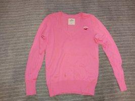 Hollister V-Neck Sweater pink