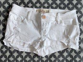 Hollister - weiße Shorts