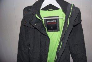 Hollister Kurtka zimowa zielony-antracyt