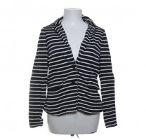 Holly & Whyte Shirtjack wit-donkerblauw