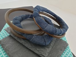 Holz, Jeans Armbänder, 5 Stück, Retro Armband