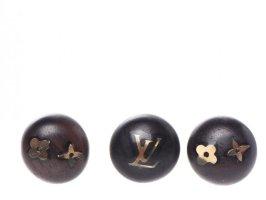 Louis Vuitton Orecchino a vite marrone scuro