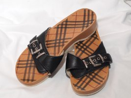 "Holzclogs ""Burberry"""
