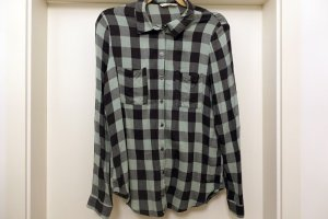 Only Lumberjack Shirt black-sage green