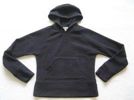 hoodie bluse schwarz gr s 36 polarbluse