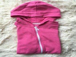 Hoodie in Pink mit Gebrauchsspuren