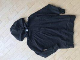 H&M Felpa con cappuccio nero Cotone