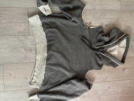 Hollister Suéter gris-gris claro