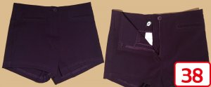 Orsay Hot pants bruin-paars