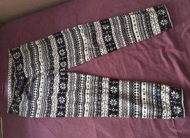 H&M Pantalone termico multicolore