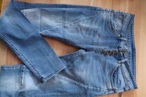 Fishbone Pantalon fuselé bleu