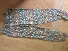 Mavi Pantalón estilo Harem multicolor Viscosa