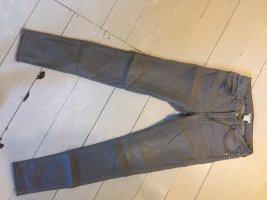 H&M Pantalone a sigaretta grigio
