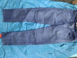 Zara Pantalone peg-top blu pallido