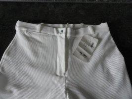 Orion London Pantalón de equitación blanco tejido mezclado