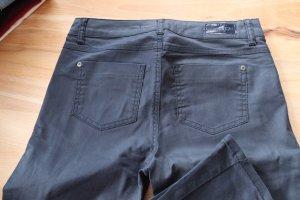 17&co Pantalon fuselé bleu foncé