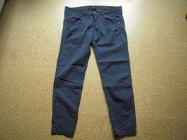 Strenesse 7/8 Length Trousers dark blue cotton