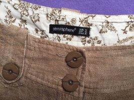 Atmosphere Pantalon taille basse marron clair