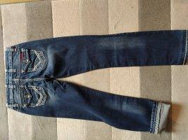 Cipo & Baxx Low Rise jeans azuur Katoen