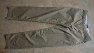 Tommy Hilfiger pantalón de cintura baja marrón arena-ocre