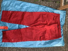 B&C collection Cargo Pants dark red