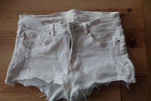 H&M Baggy Pants white