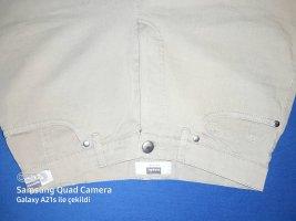 Hirsch Pantalone jersey grigio-verde-cachi