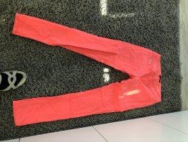 Workowate jeansy czerwony