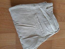Hose beige aus Leinen Größe 38