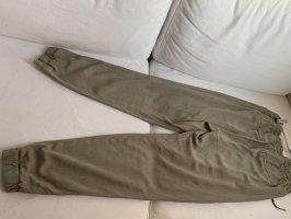 H&M L.O.G.G. Pantalon «Baggy» gris vert