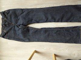 Escada Pantalone chino blu scuro Cotone