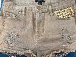Hose kürz 38 M Nieten Shorts