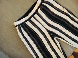 Zara 7/8 Length Trousers white-black mixture fibre