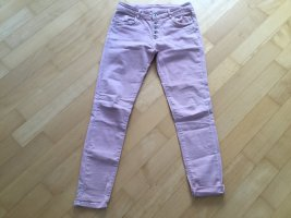 Low-Rise Trousers dusky pink