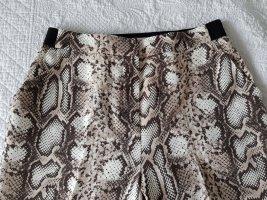Camaieu Jersey Pants grey brown-natural white