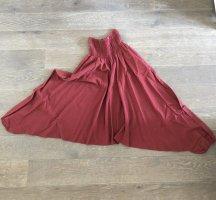 Hose Pumphose dunkelrot Baumwolle Smokebund Einheitsgröße