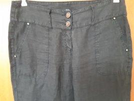 oltre Pantalone di lino nero