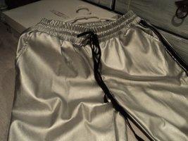 Pantalon thermique argenté-noir polyester
